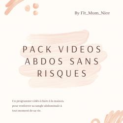 Pack vidéos ABDOS SANS RISQUES