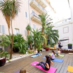 Pilates & instant healthy, cours collectif, tous niveaux, jeudis 10h, Hôtel Beau Rivage, 1h30