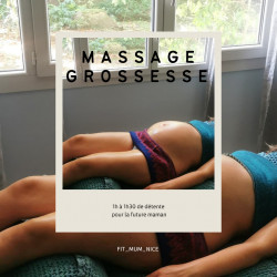 Massage grossesse 1 h 30