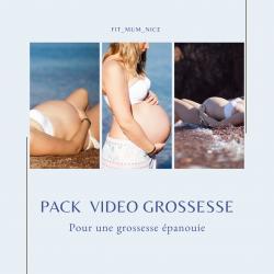 Un pack video contenant toute l'expertise d'une thérapeute spécialisée en périnatalite